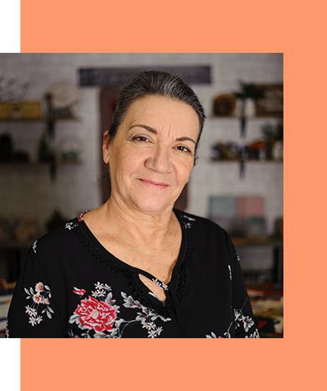 Eliana Zerbinatti, professora e designer de artesanato