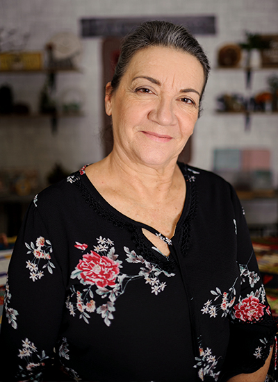 Eliana Zerbinatti, professora e designer de Patchwork e Quilting