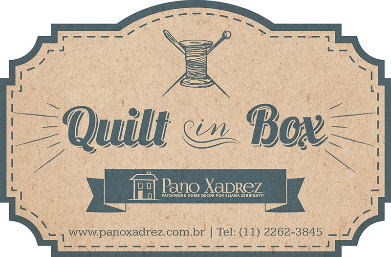 Quilt in box por Eliana Zerbinatti